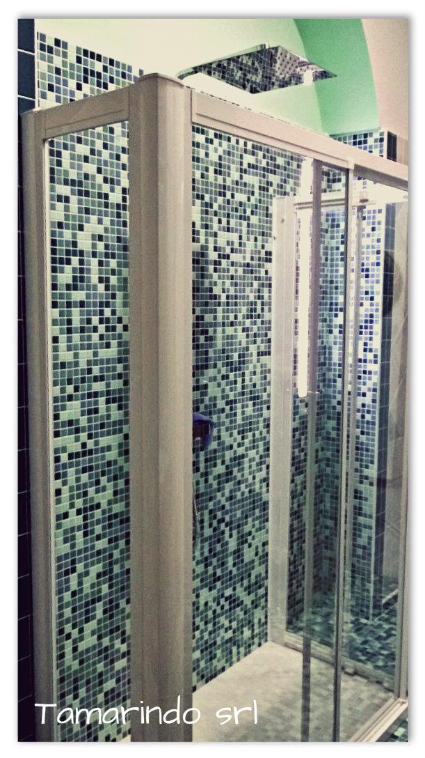Sostituzione vasca con doccia tamarindo s r l - Impermeabilizzazione piastrelle doccia ...