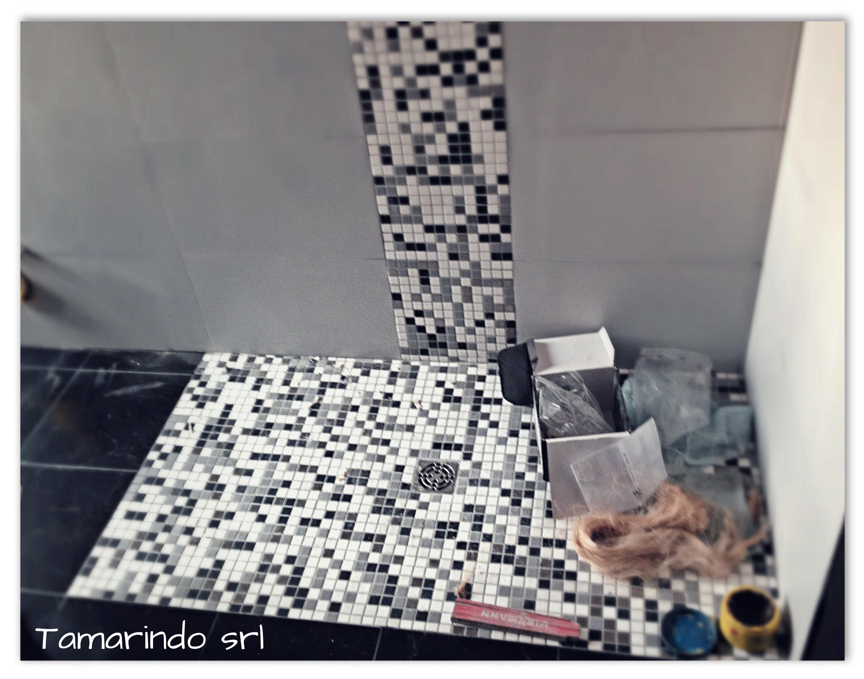 Mosaico appiani e doccia disenia tamarindo s r l